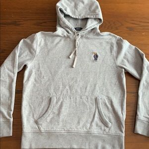 Polo Ralph Lauren teddy bear hoodie medium